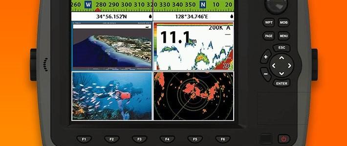 3D GPS PLOTTER+FISH FINDER(8″) – SAMYUNG N80/NF80