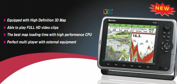 3D GPS PLOTTER+FISH FINDER(12″) – SAMYUNG N120/NF120