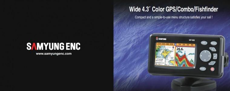 GPS PLOTTER FISH FINDER (4.3″) – SAMYUNG N430/NF430