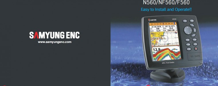 GPS PLOTTER+FISH FINDER(5.6″) – SAMYUNG N560/NF560
