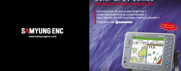 GPS PLOTTER+FISH FINDER (8″/10.4″/15.1″) – SAMYUNG N800/NF800/N5100/NF5100/N3800/NF3800