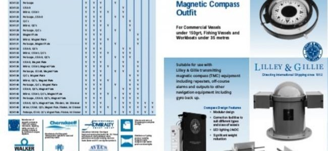 Magnetic Compass Outfit – Lilley and Gillie Mk2002