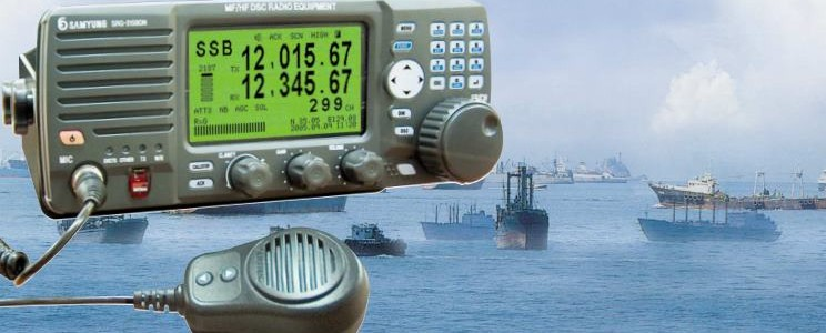 150W MF/HF DSC, NBDP RADIO TRANCEIVER – SAMYUNG SRG-3150D/DN