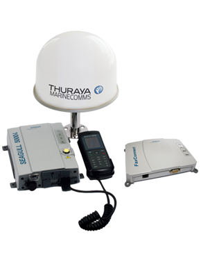 Voice_data_and_fax_terminal - THURAYA Seagull 5000i